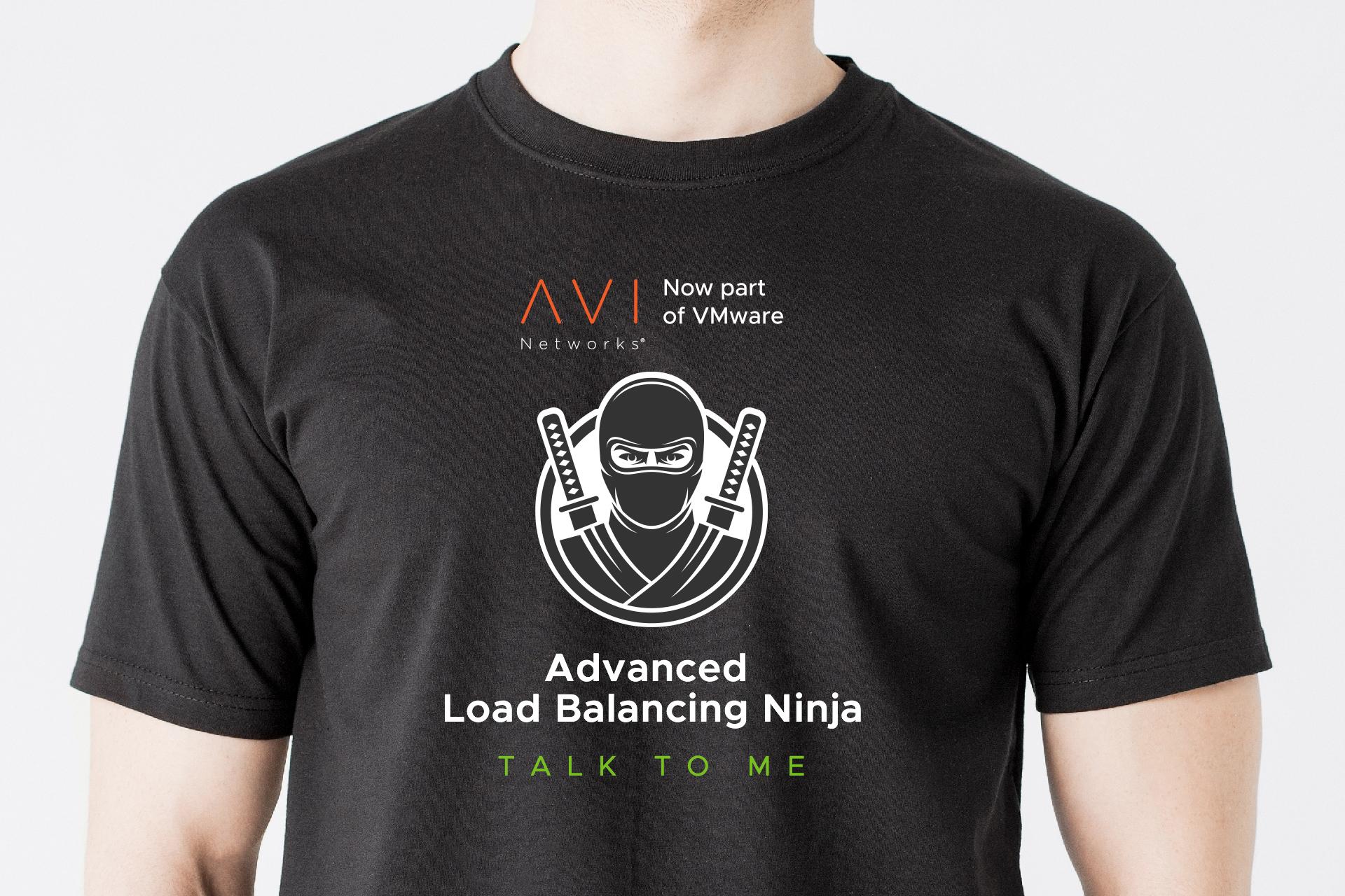 Avi Networks Event Staff T-shirt