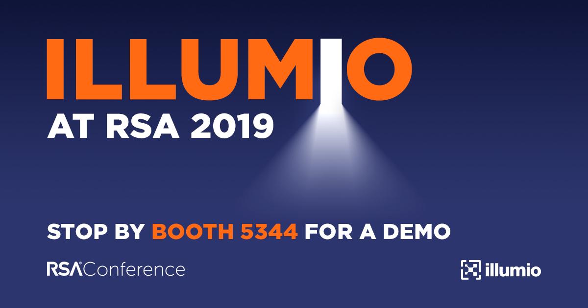 Illumio event promotion social graphic